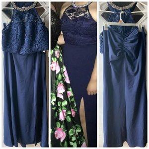 "2-piece dress ""My Michelle"" size 13"